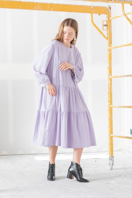 Toit Volant Sunday Market Dress - Lilac