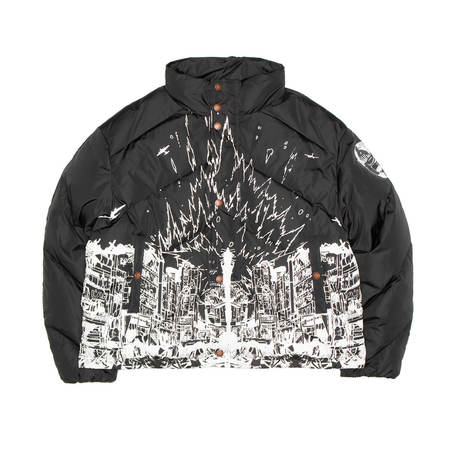 FORMY STUDIO Destroy puffer - BLACK