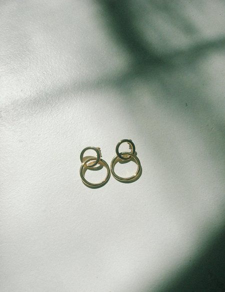 Leigh Collective Link Earrings - Gold