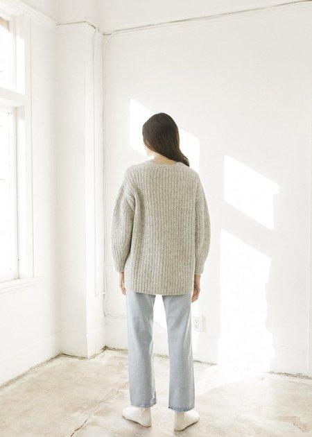 Bare Knitwear Marine Cardigan - Cloud Grey