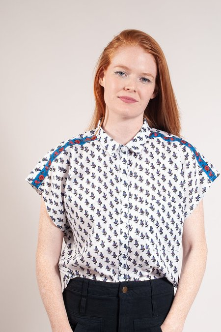 Built by Wendy Provence Blouse - White