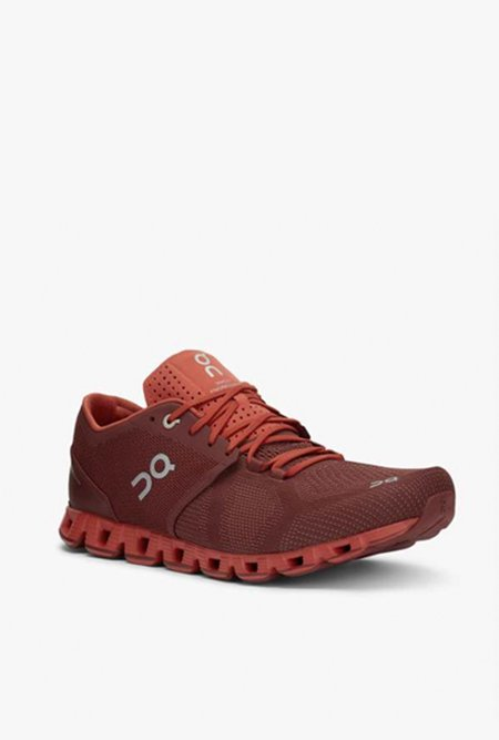 ON running Cloud X Running Shoe - Sienna/Rust