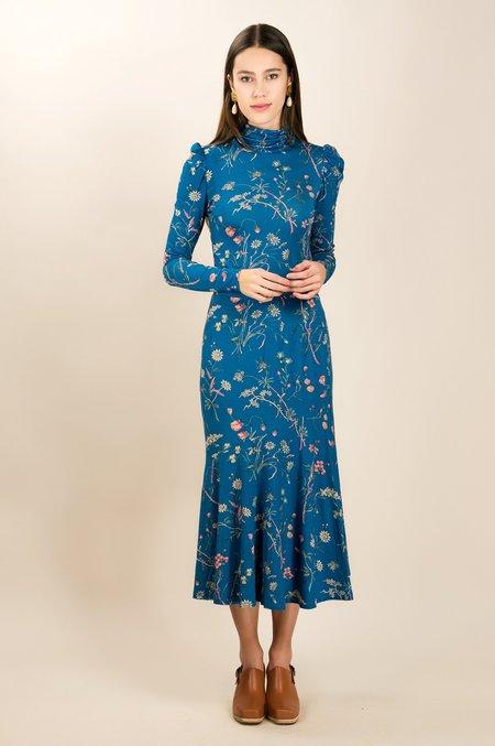 Kristinit Chatteron Skirt - Blue Floral