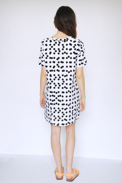 Dusen Dusen Double Dot Tee Dress
