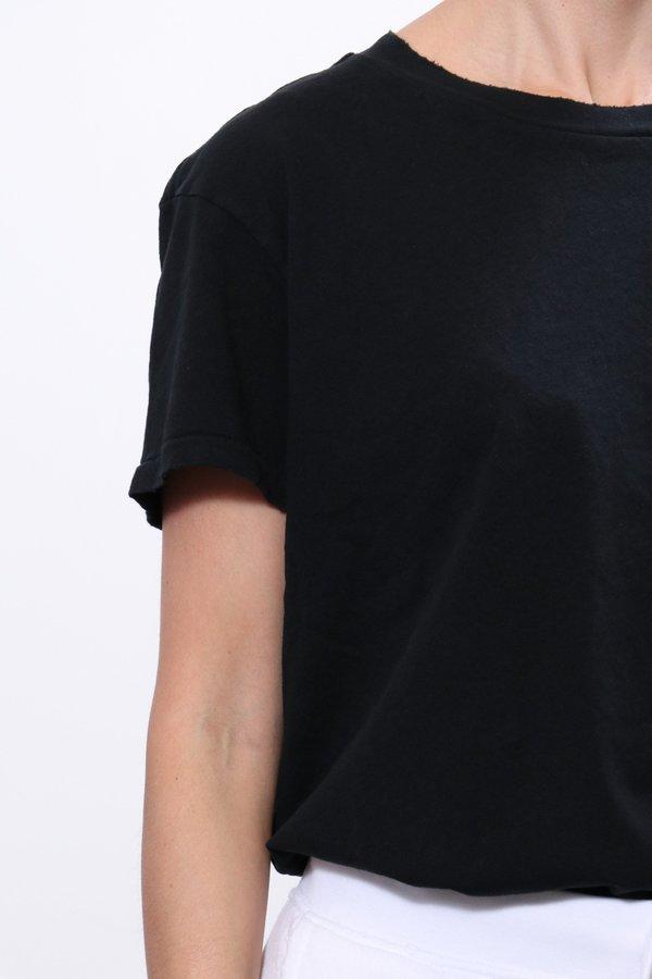 Nili Lotan Brady Tee - Washed Black