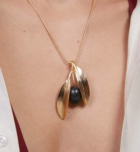 ANDRESGALLARDO Oilve Necklace