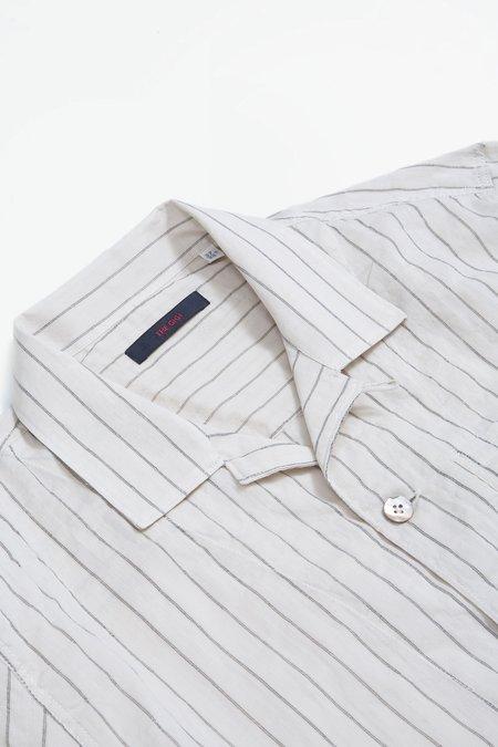 The Gigi Bell jacket - striped beige