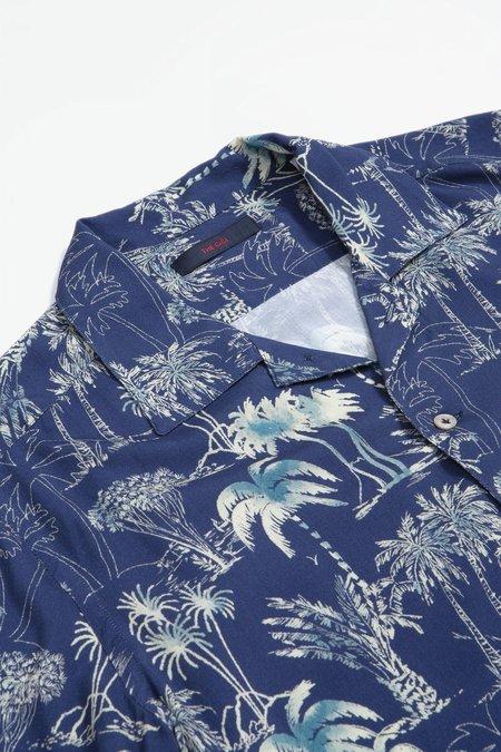 The Gigi Utah shirt - blue print