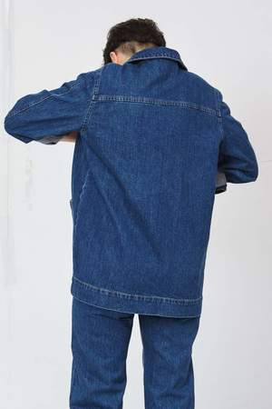 Decade Sunny Jacket - Dark Wash