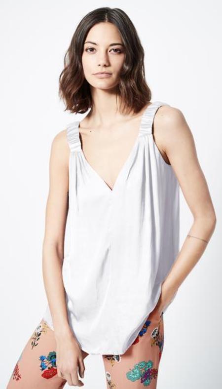 Smythe Elastic Strap Cami - white