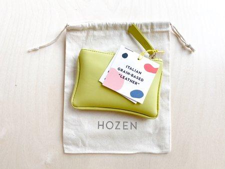 HOZEN COLLECTION CARD POUCH - LIMÓN