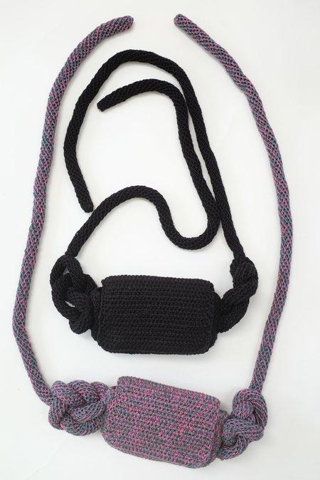 Mozh Mozh Crochet Knots Waist Bag