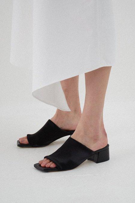 Miista Caterina Lycra Sandals - Black