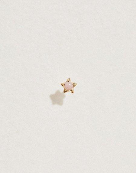 Pamela Love Midnight Star Stud - 14K Yellow Gold