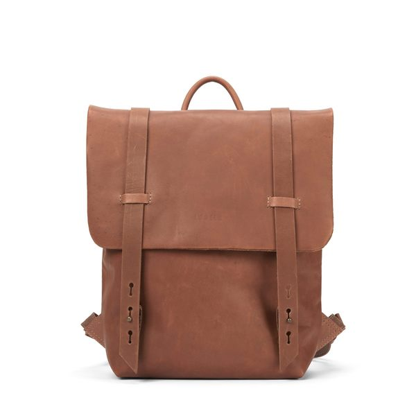 Lowell Fairmount Grand Nappa Leather Backpack