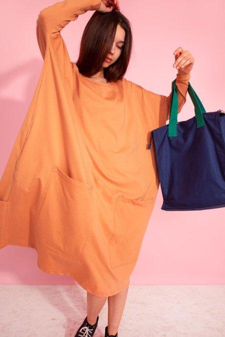 L.F.Markey Milo Longsleeve Dress - Orange