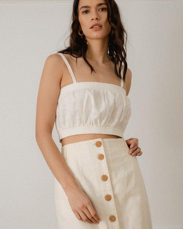 harly jae Provence Skirt - Ivory