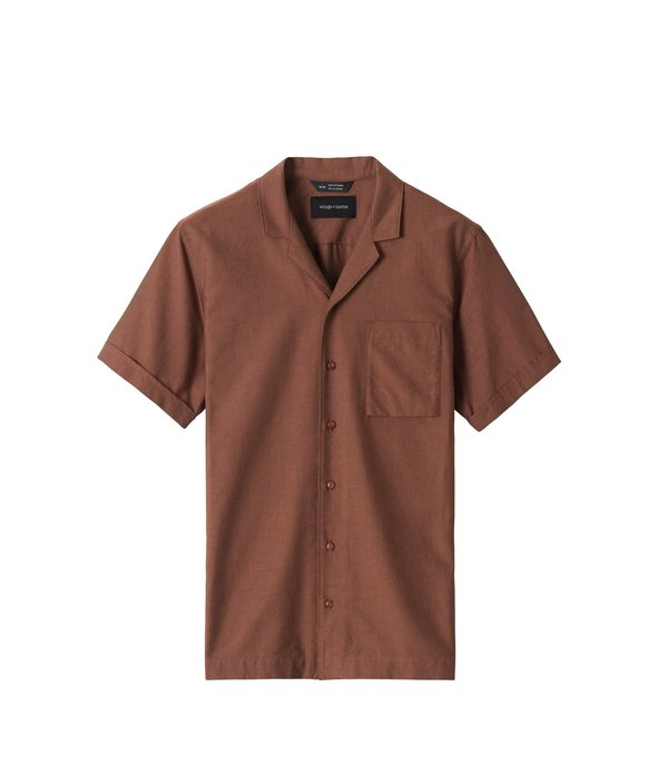 Wings+Horns Oxford Deck Shirt - Sequoia