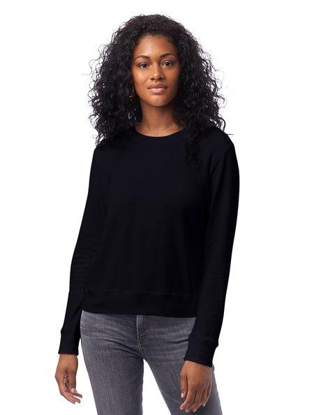 Alternative Apparel Cotton Modal Sweatshirt - Black