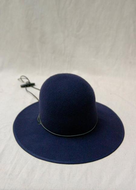Brookes Boswell Suncrest Wool Felt Hat - Navy