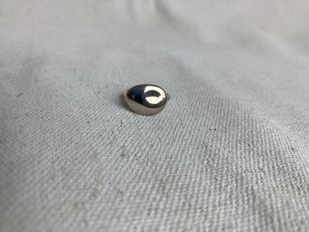 Chorthip Pebble Stone Ring - sterling silver