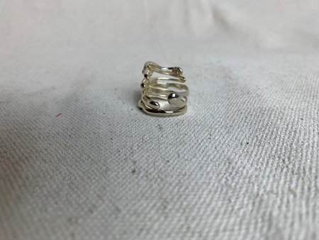Chorthip Raindrop Ring - sterling silver