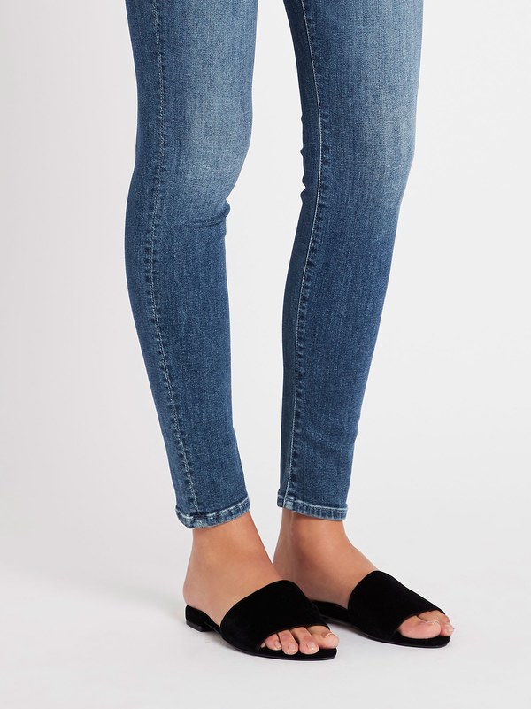 Mother Denim The Looker Jean - Mid Denim