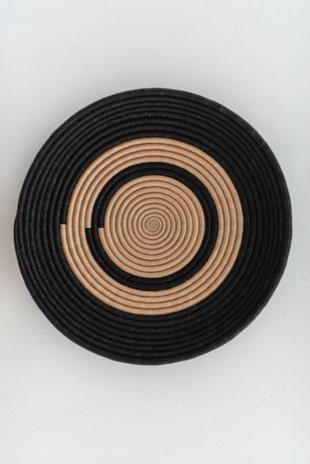 "Azizi x Macy White Collection 18"" Revolve Wall Hanging - Modern Neutral"