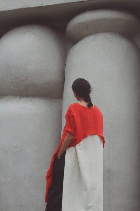 Nin Studio TUNIC DOUBLE DRESS - Red