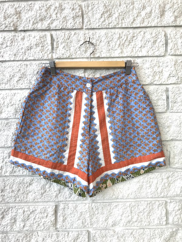 Antik Batik GISELE SHORT - light blue