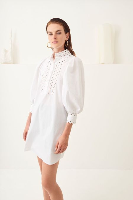 Antik Batik MALIA DRESS - White