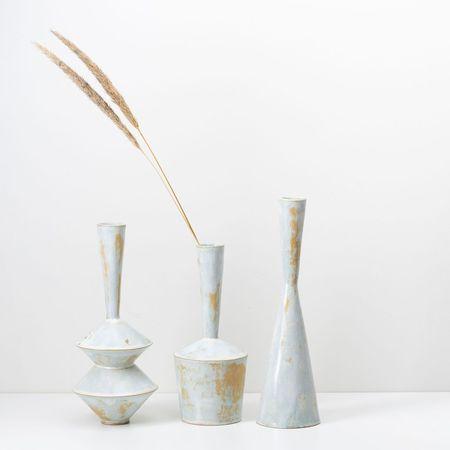 Bobbie Specker Sculptural Vases - Neutrals