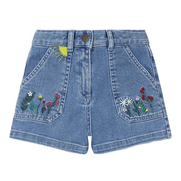kids Bonton Child Arizona Shorts - Raw Denim Blue