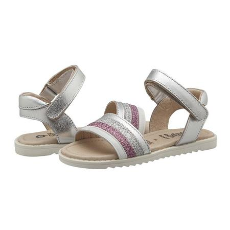 Old Soles Baby And Child Colour Pot Sandals Silver