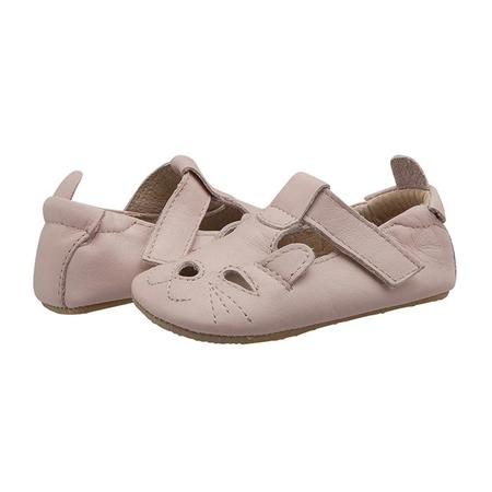 Kids Old Soles Cutesy Cat Shoes - Powder Pink