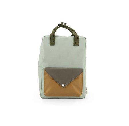 Sticky Lemon Sprinkles Envelope Backpack - Green