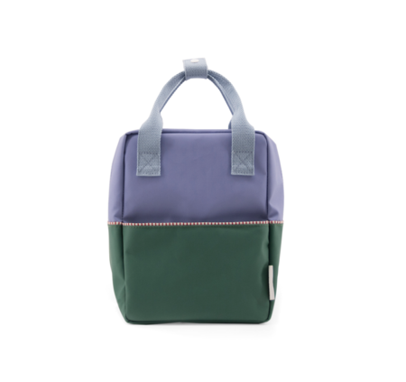 kids Sticky Lemon Color Block Backpack - green