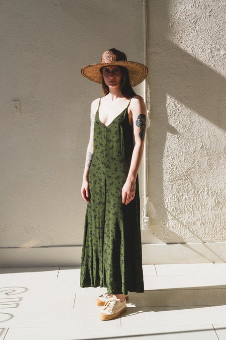 Lacausa OLEANDER DRESS - Green