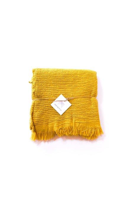 House No.23 Ella Towel - Mustard