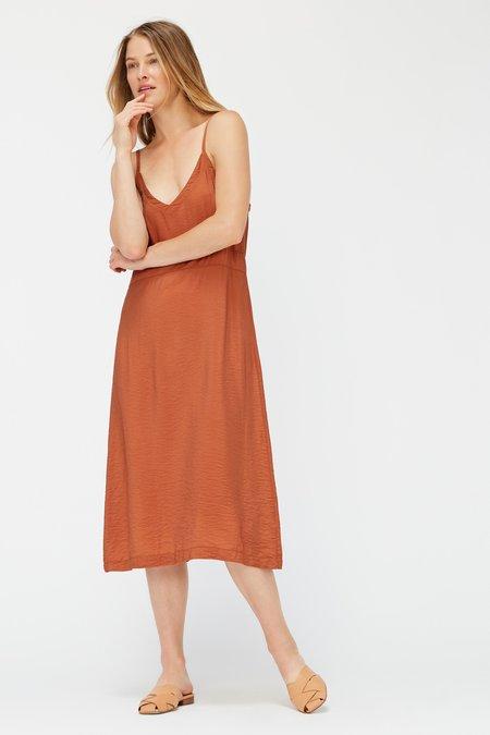 Lacausa Alma Slip Dress - Almond