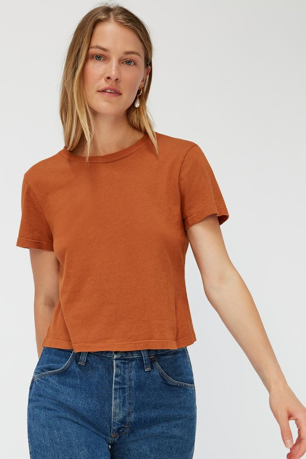 Lacausa Luxe Foster Tee - Almond