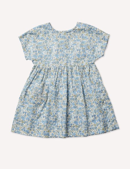 Kids Petits Vilains Marie Everyday Dress - Poppy/Daisy Blues
