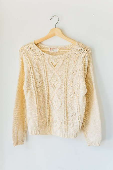 Vintage Bell Pearl Sweater