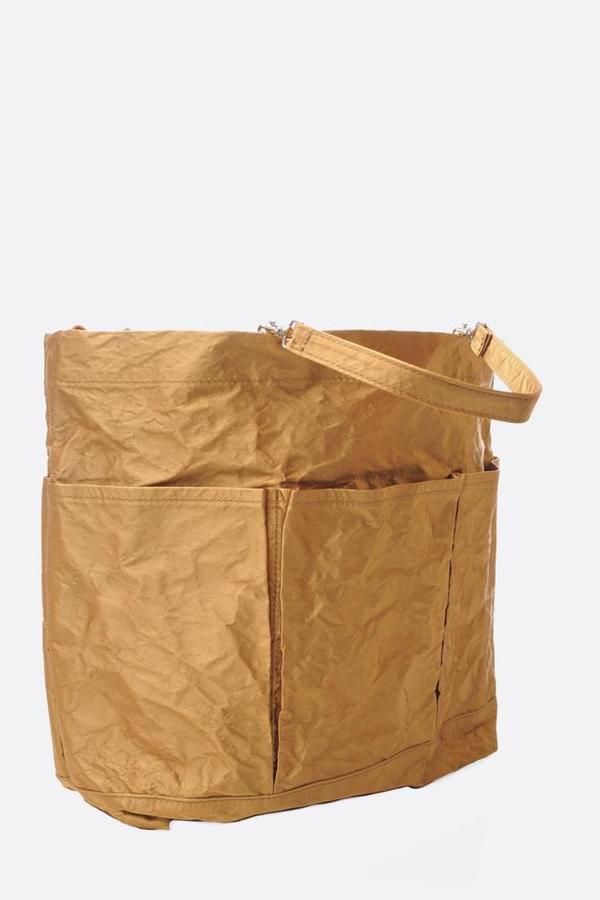 Zilla Satin Garden Bag - Tobacco