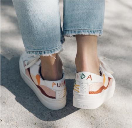 Soludos Hawaiian Platform Sneaker