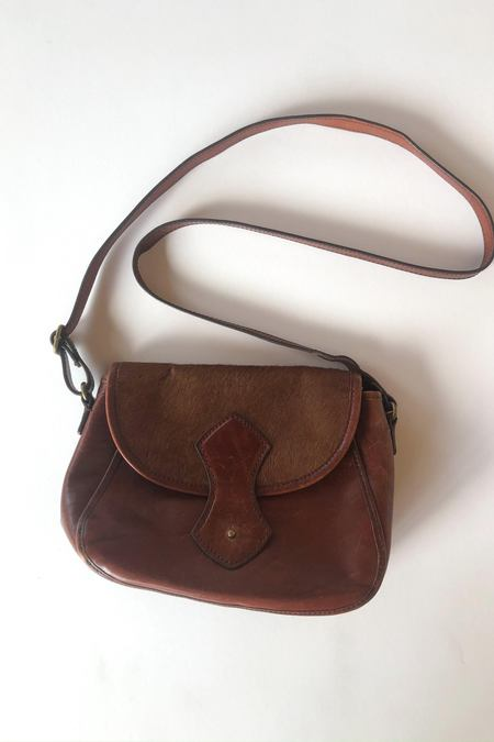 Vintage Monaco Bag - Brown