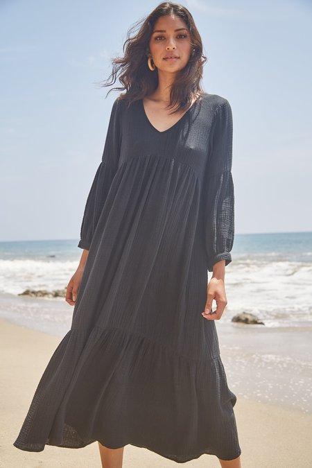 Rachel Pally Gauze Cecelia Dress - Black