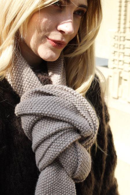 ergo Hand Knit Alpaca Scarf