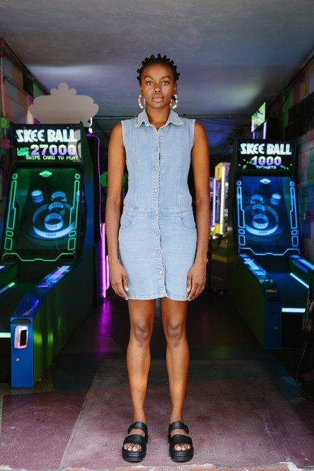 CIE Denim DK Sleeveless Dress - Light Blue