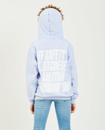 OFF SAFETY Aaliyah Angel Baby Hoodie - Lavender